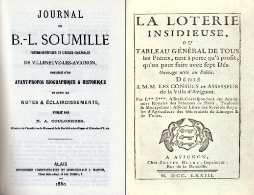 journal de Bernard Laurent Soumille